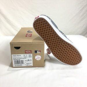 Vans Shoes - VANS Classic Slip on MLB Los Angeles LA Dodgers dd1ed41fa
